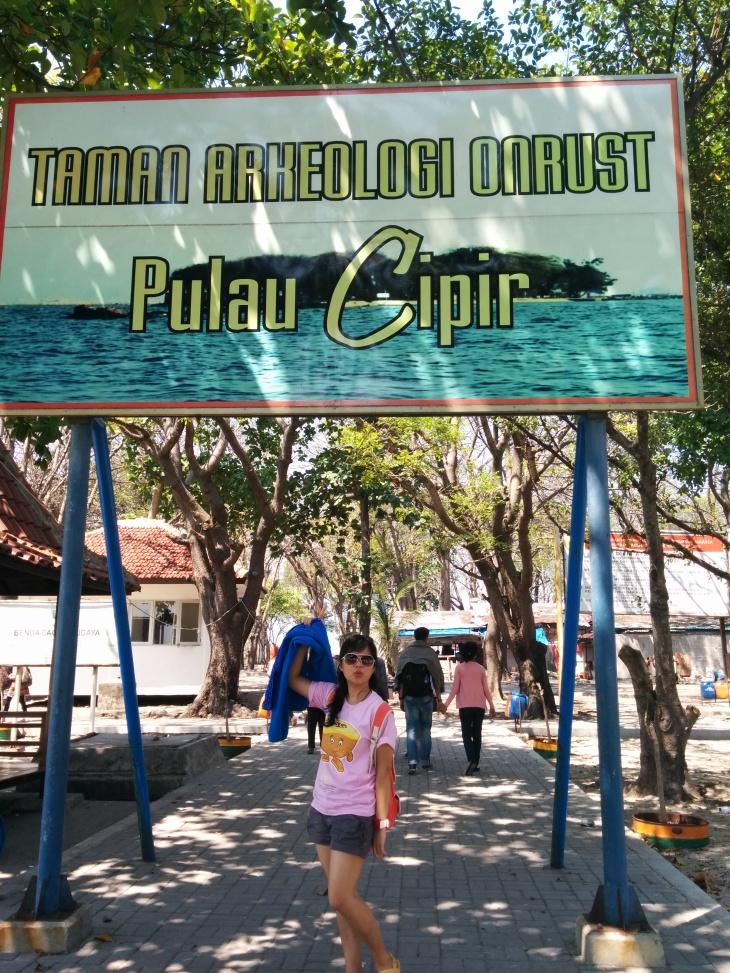 Taman Arkeologi Onrust - Pulau Cipir