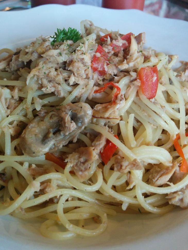 Hot Tuna Spaghetti