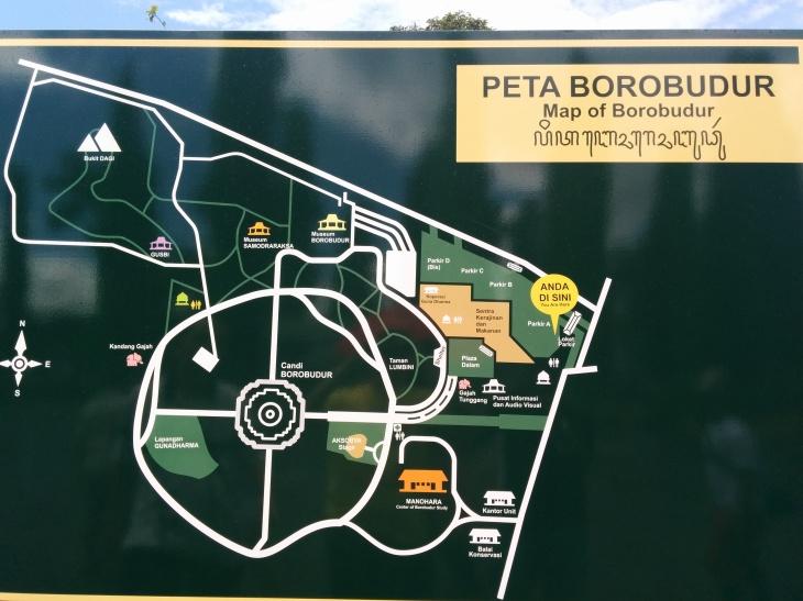 Borobudur Map