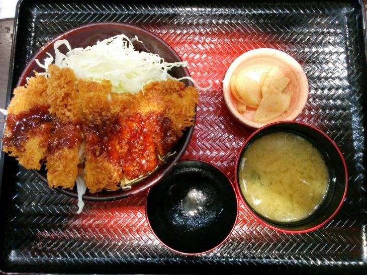 Ootoya's Chicken Katsu Set Menu