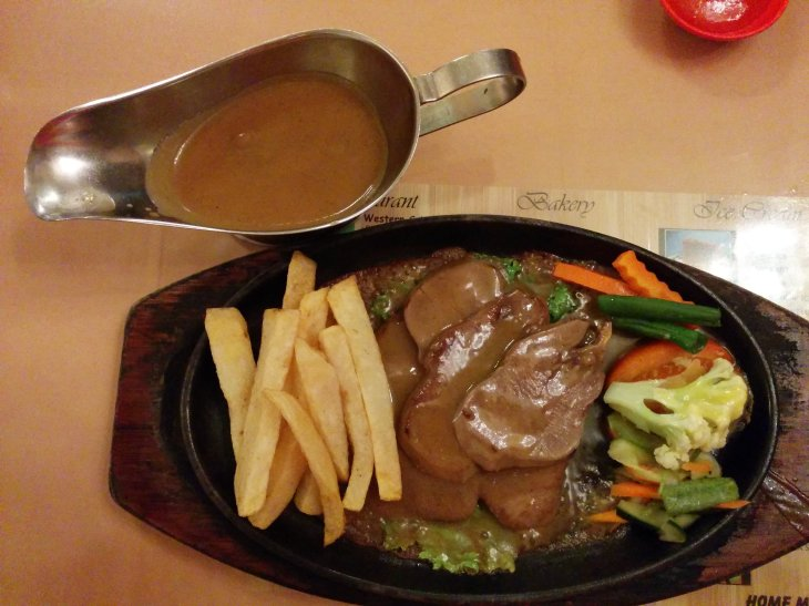 Steak Lidah Lembu
