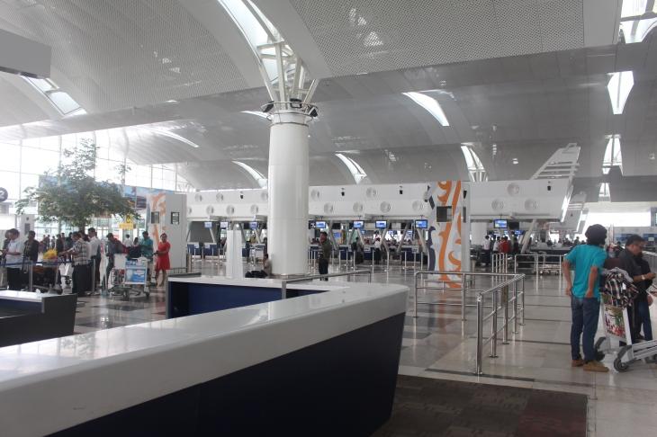 Terminal Keberangkatan Bandara Kuala Namu